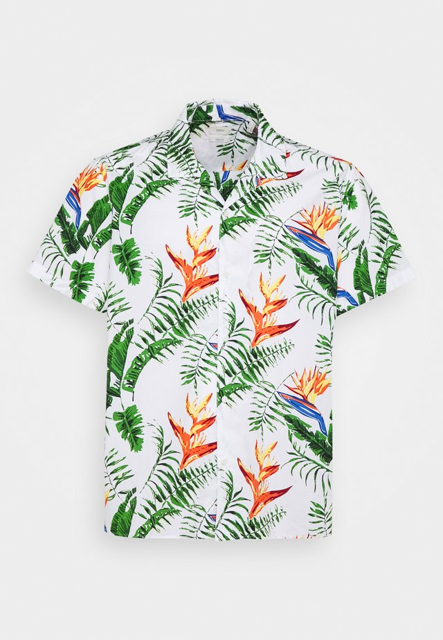 BIG HAWAII - Camisa - white