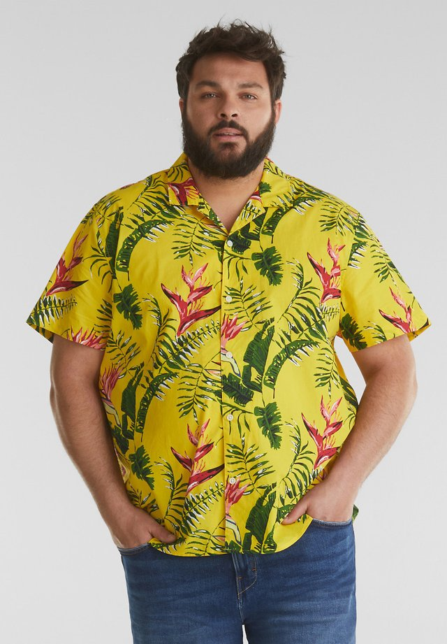 BIG HAWAII - Overhemd - light yellow