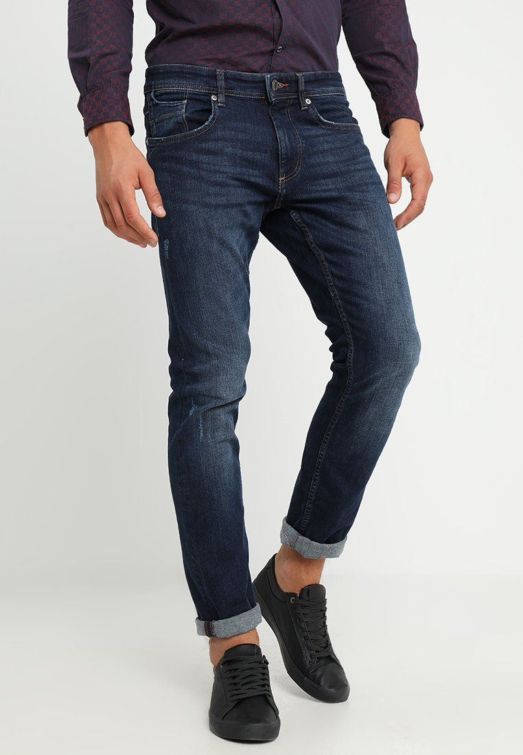 Esprit - Slim fit -farkut - blue dark wash