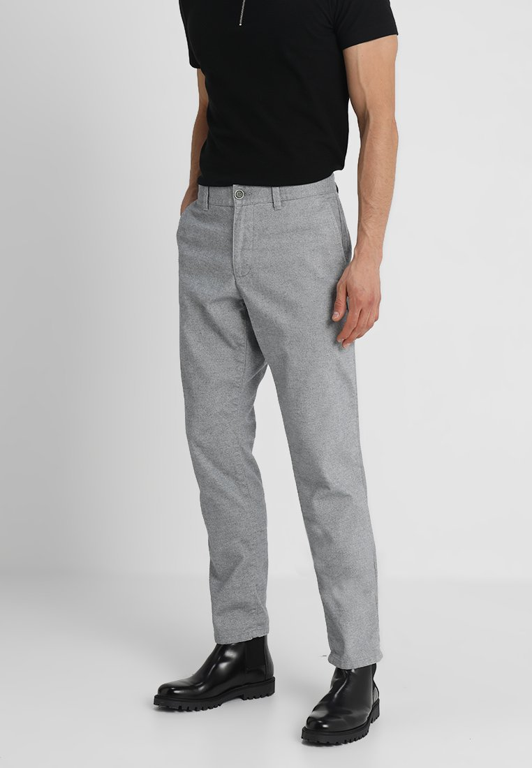 Esprit - BRUSHED - Chino - grey