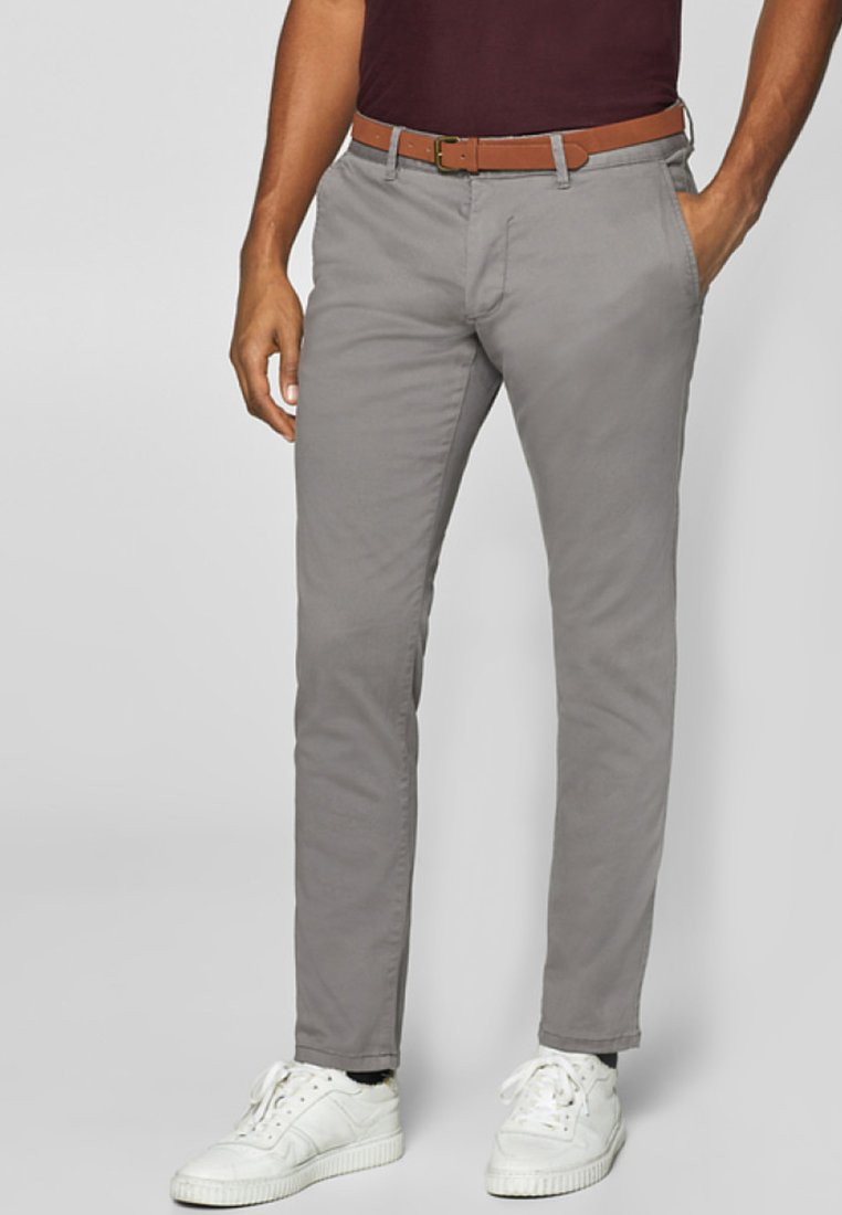 Esprit - Pantalones chinos - grey