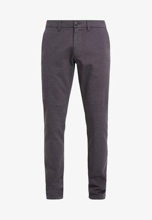 DOBBY - Chino kalhoty - anthracite