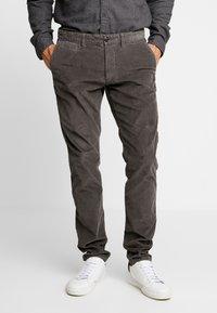 Esprit - Pantalon classique - dark grey - 0