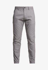 Esprit - CHECK - Spodnie materiałowe - grey - 3