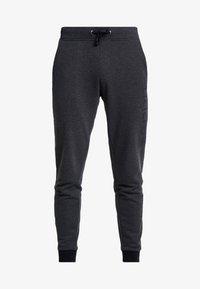 Esprit - LOGO - Pantalon de survêtement - dark grey - 4