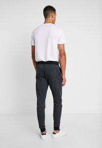 Esprit - LOGO - Pantalon de survêtement - dark grey - 2