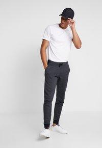 Esprit - LOGO - Pantalon de survêtement - dark grey - 1