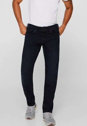 Straight leg jeans - dark blue