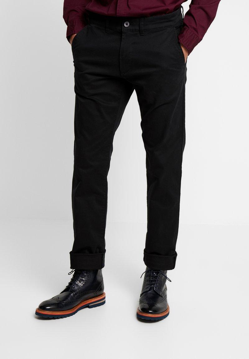 Esprit - MLA - Kangashousut - black