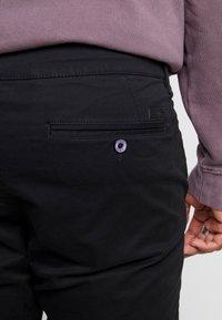 Esprit - Chino kalhoty - black - 5