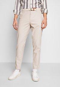 Esprit - Trousers - light beige - 0