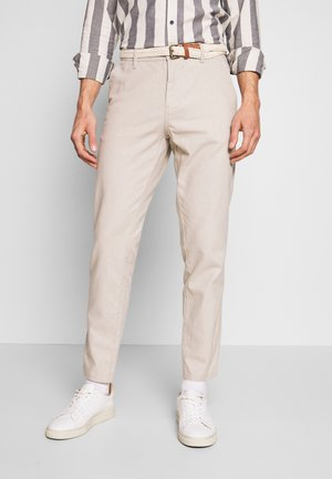 Trousers - light beige