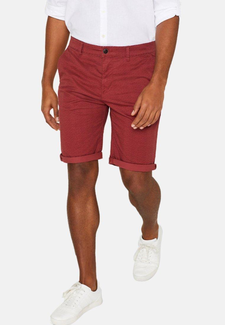 Esprit - SUMMER - Shorts - red