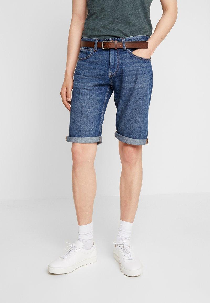 Esprit - Jeans Shorts - blue dark wash