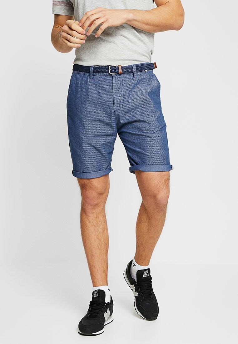 Esprit - CHAMBRAY - Shorts - light blue