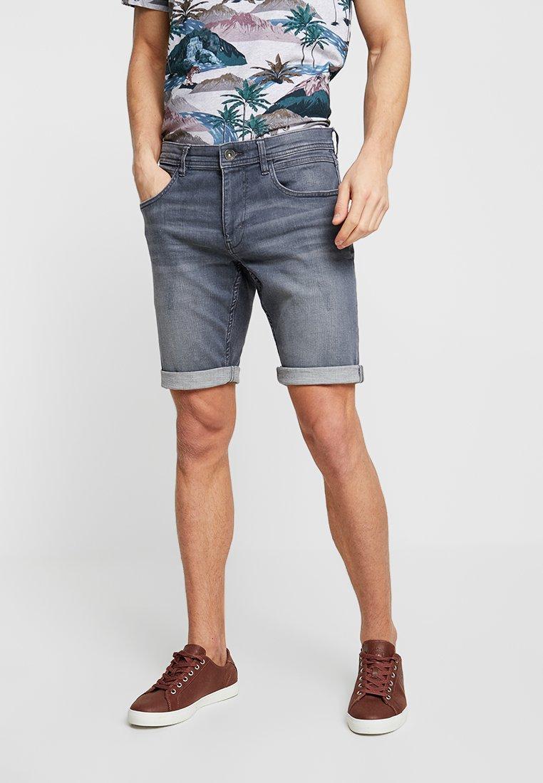 Esprit - DYNAMIC - Jeans Shorts - grey medium wash