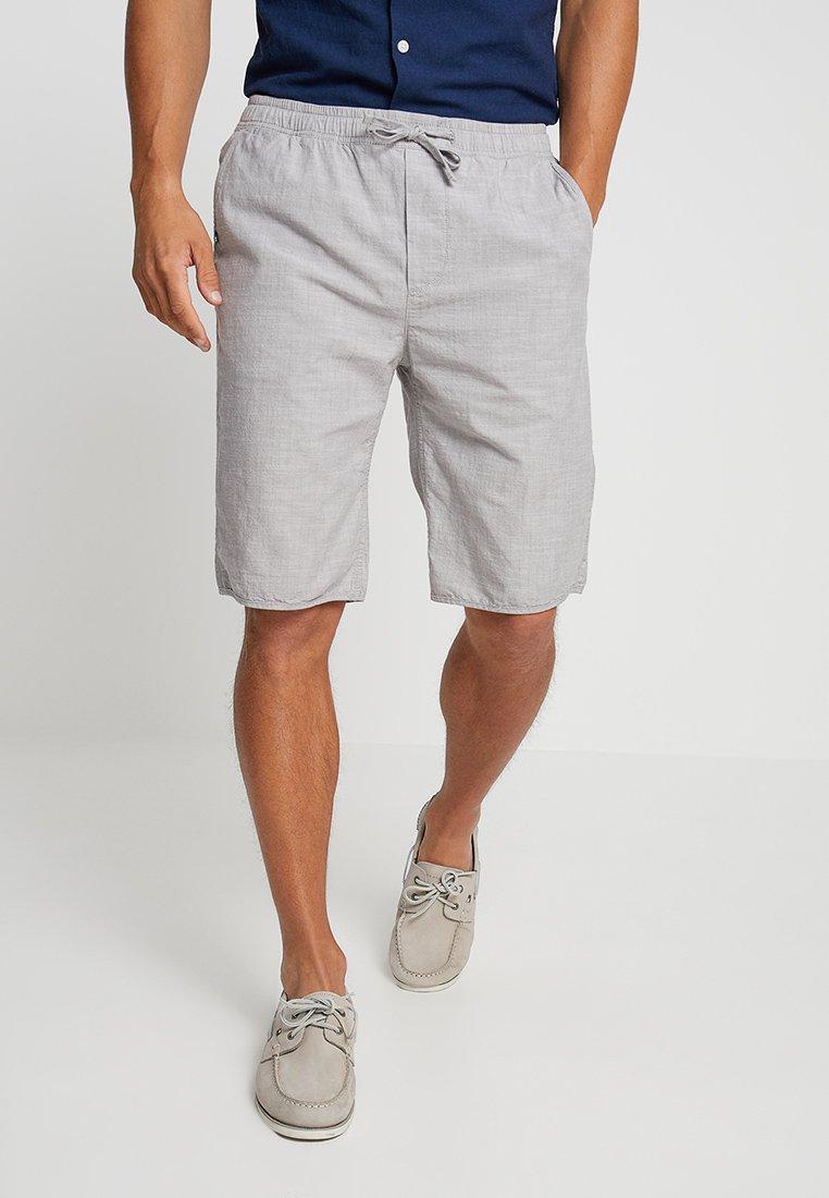 Esprit - PULLON CHAMBRAY - Shorts - light grey