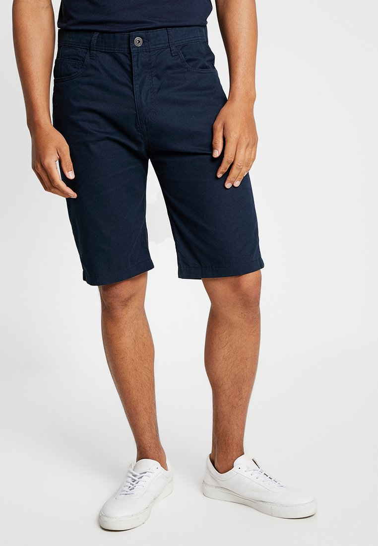 Esprit - BASIC - Shorts - navy