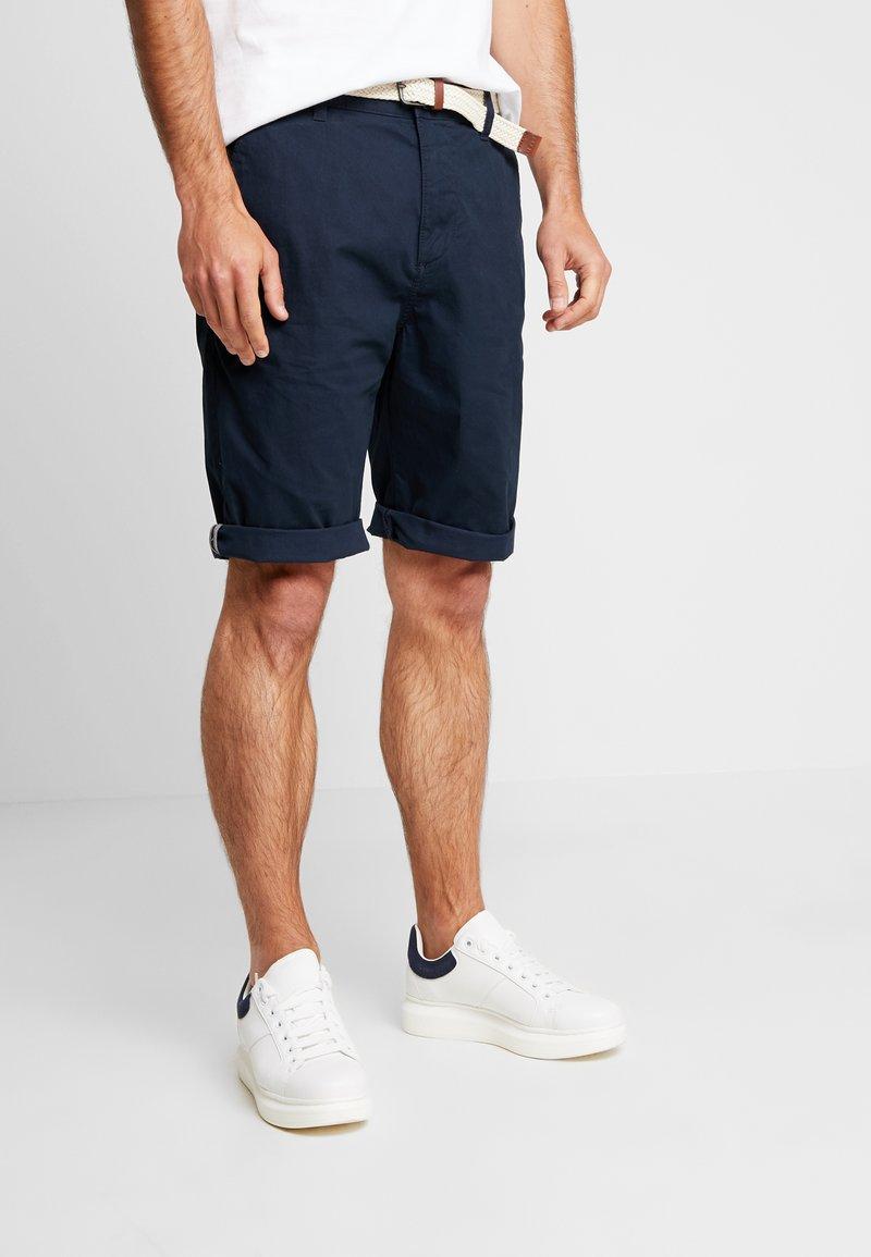 Esprit - BASIC - Shorts - navy
