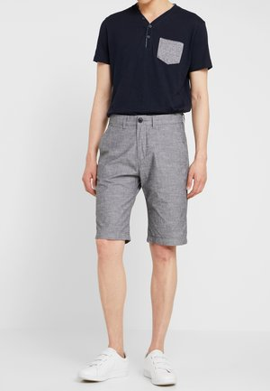 SLUB STRUCT - Shorts - grey