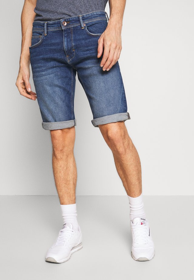 Jeansshorts - blue medium wash