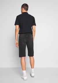 Esprit - Denim shorts - black medium wash - 2