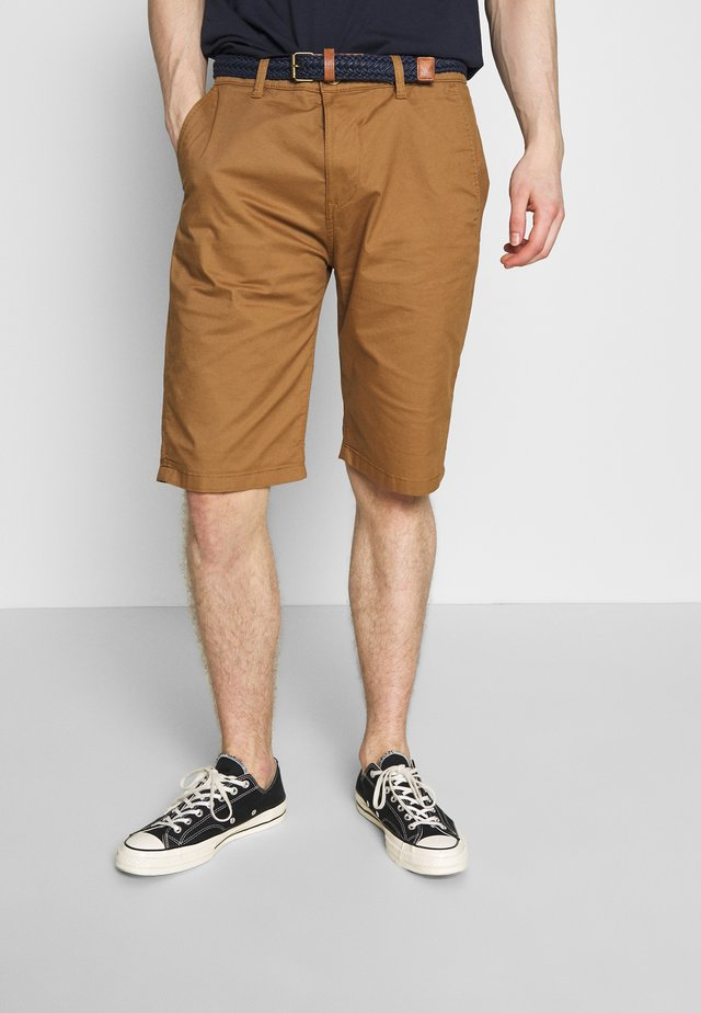 Shorts - camel