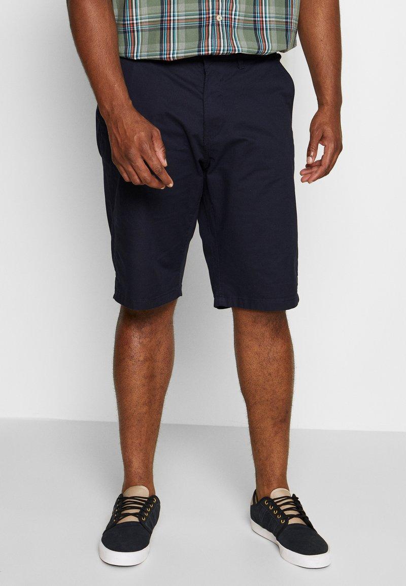 Esprit - BIG - Shorts - navy