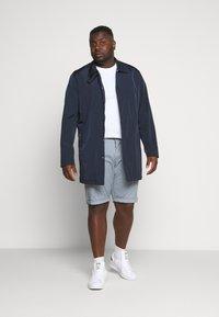 Esprit - BIG - Shorts - grey blue - 1