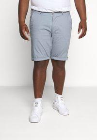Esprit - BIG - Shorts - grey blue - 0
