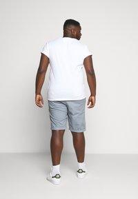 Esprit - BIG - Shorts - grey blue - 2