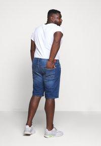 Esprit - BIG - Denim shorts - blue medium wash - 2