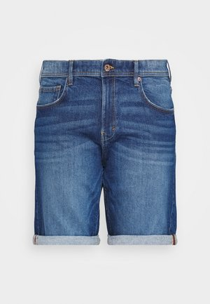 BIG - Denim shorts - blue medium wash
