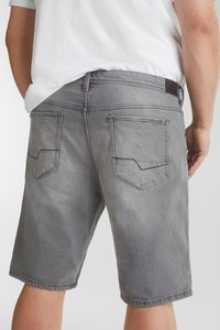 Esprit - BIG - Denim shorts - grey light washed - 5