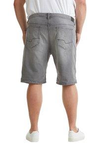 Esprit - BIG - Denim shorts - grey light washed - 2