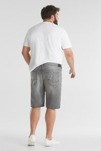 Esprit - BIG - Denim shorts - grey light washed - 3