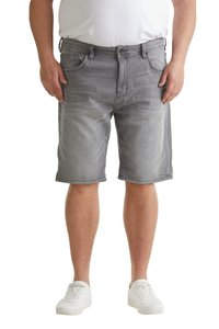 Esprit - BIG - Denim shorts - grey light washed - 0