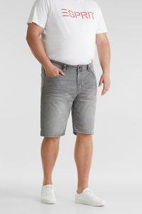 Esprit - BIG - Denim shorts - grey light washed - 4