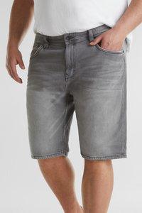Esprit - BIG - Denim shorts - grey light washed - 6