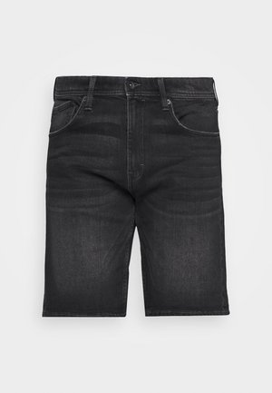 DENIM-BERMUDA MIT BIO-BAUMWOLLE - Farkkushortsit - black medium wash