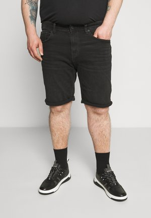 BIG - Denim shorts - black medium wash