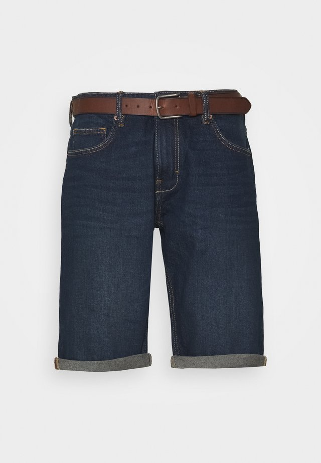 Shorts vaqueros - blue dark wash