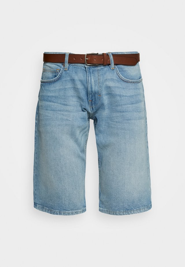 Shorts vaqueros - blue light wash