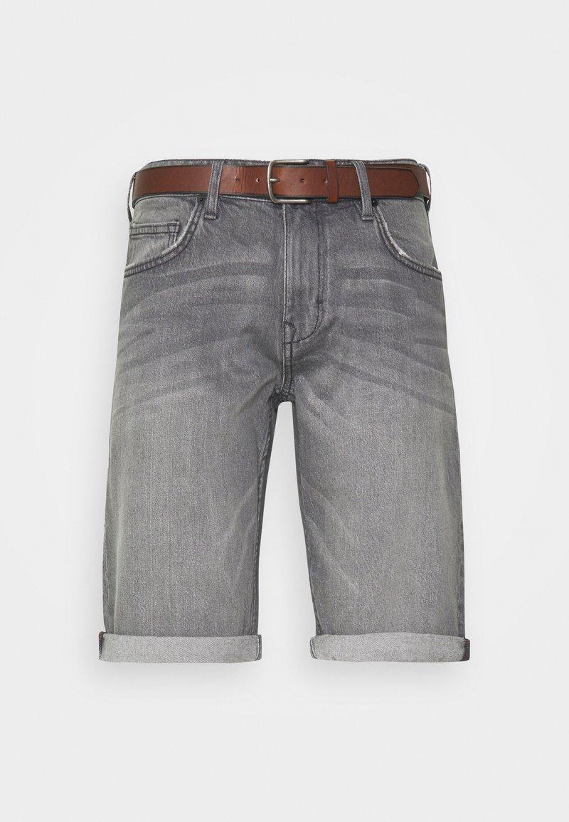 Esprit - Jeansshort - grey light wash