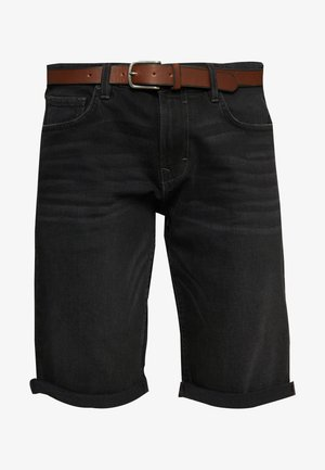 Szorty jeansowe - black medium wash