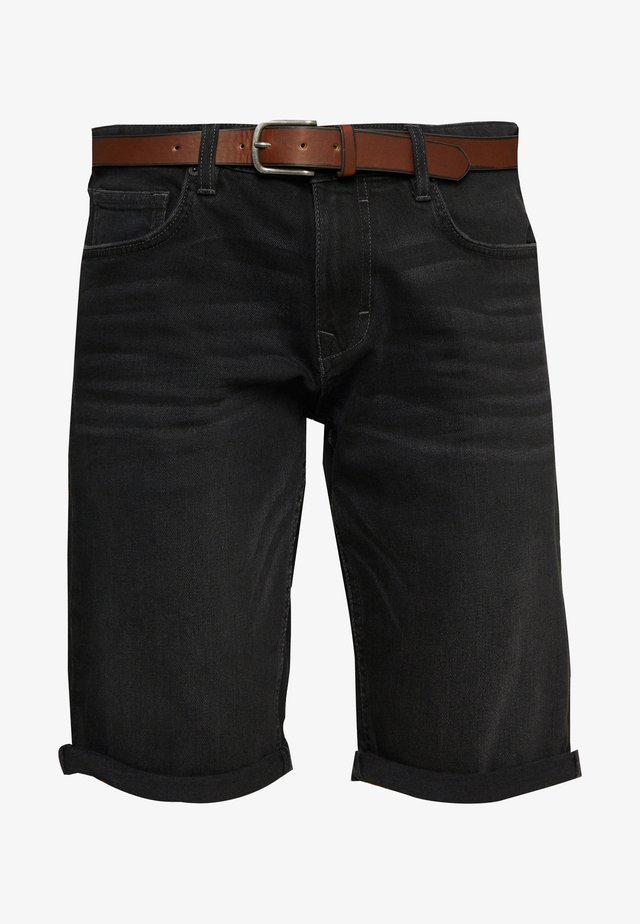 Shorts vaqueros - black medium wash