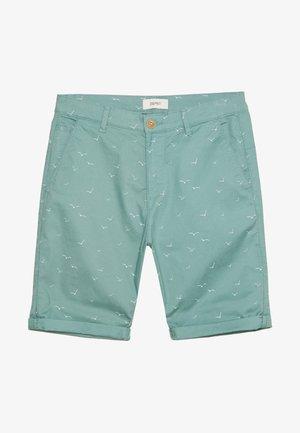 Shorts - teal green