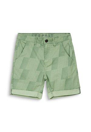 ALLOVER PRINTED SHIRTS - Shorts - pastel green