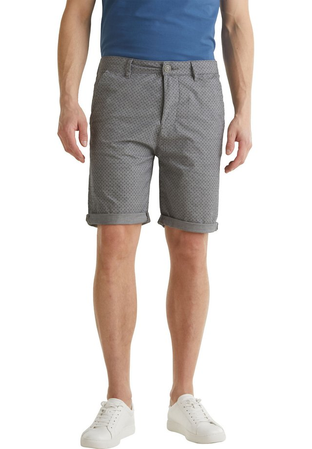 ALLOVER PRINTED SHORTS - Shorts - dark grey