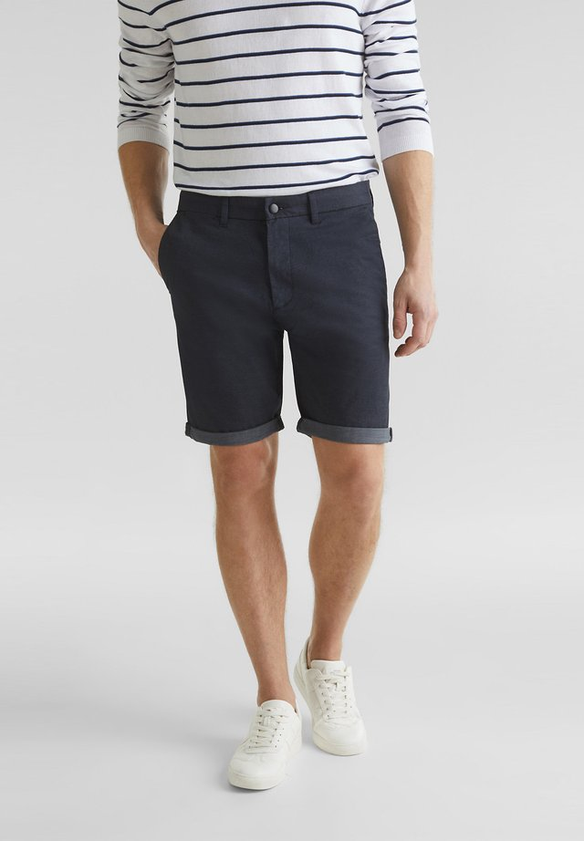 MIT COOLMAX® - Shorts - navy